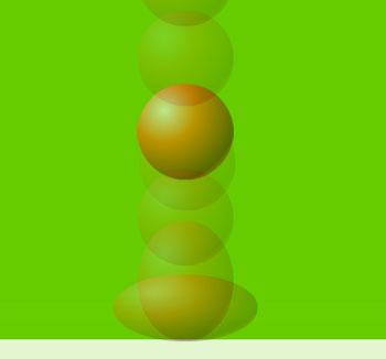 Animated Bouncing Ball